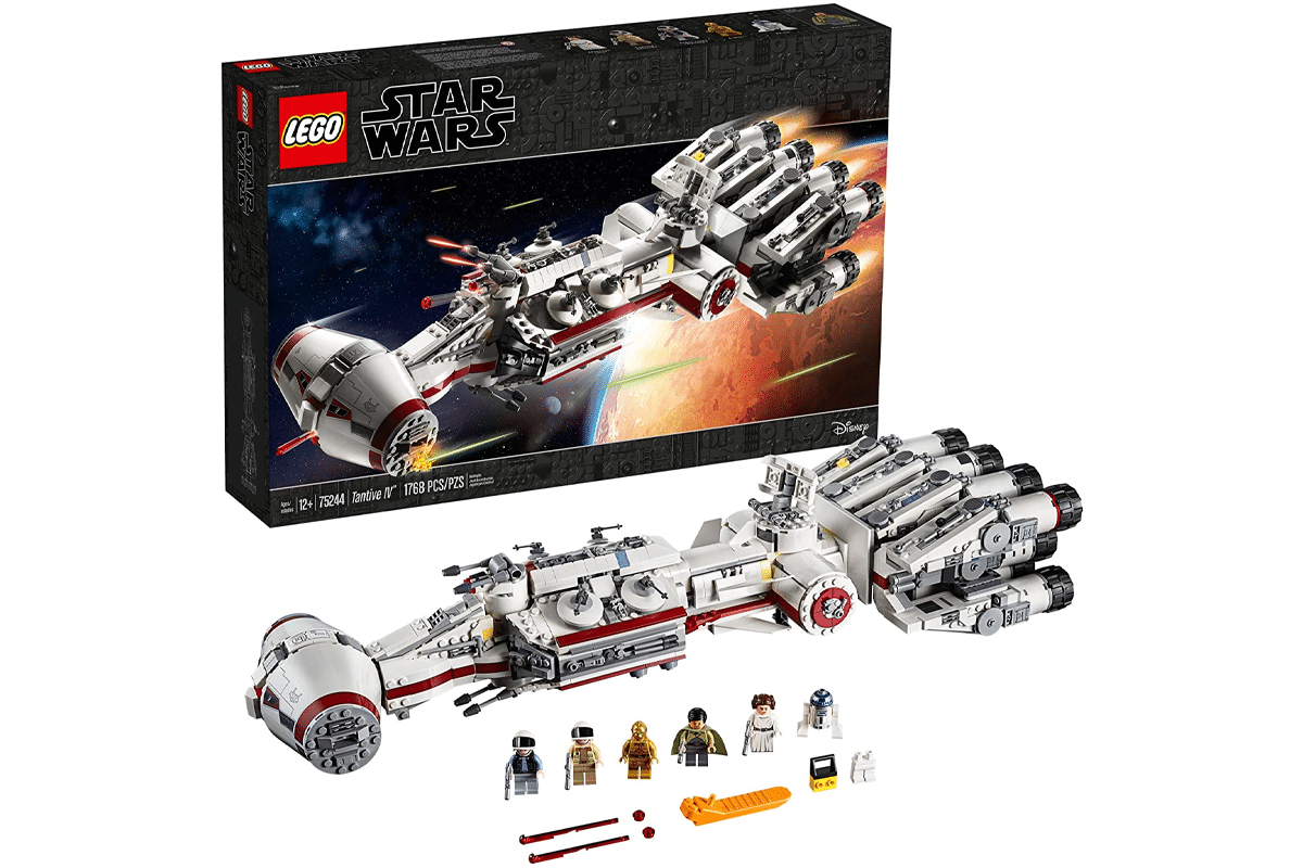 Lego star wars a new hope 75244 tantive iv building kit 1768 pieces