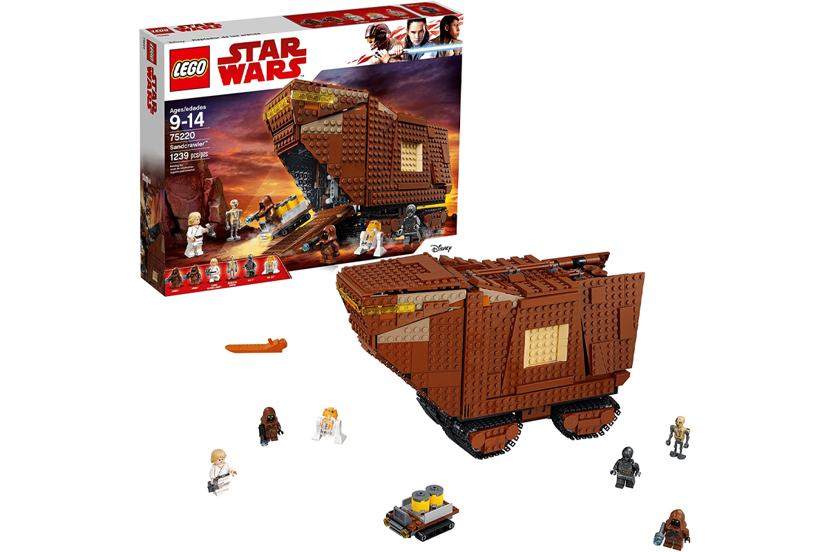Lego star wars a new hope sandcrawler 75220 building kit 1239 pieces discontinued by manufacturer