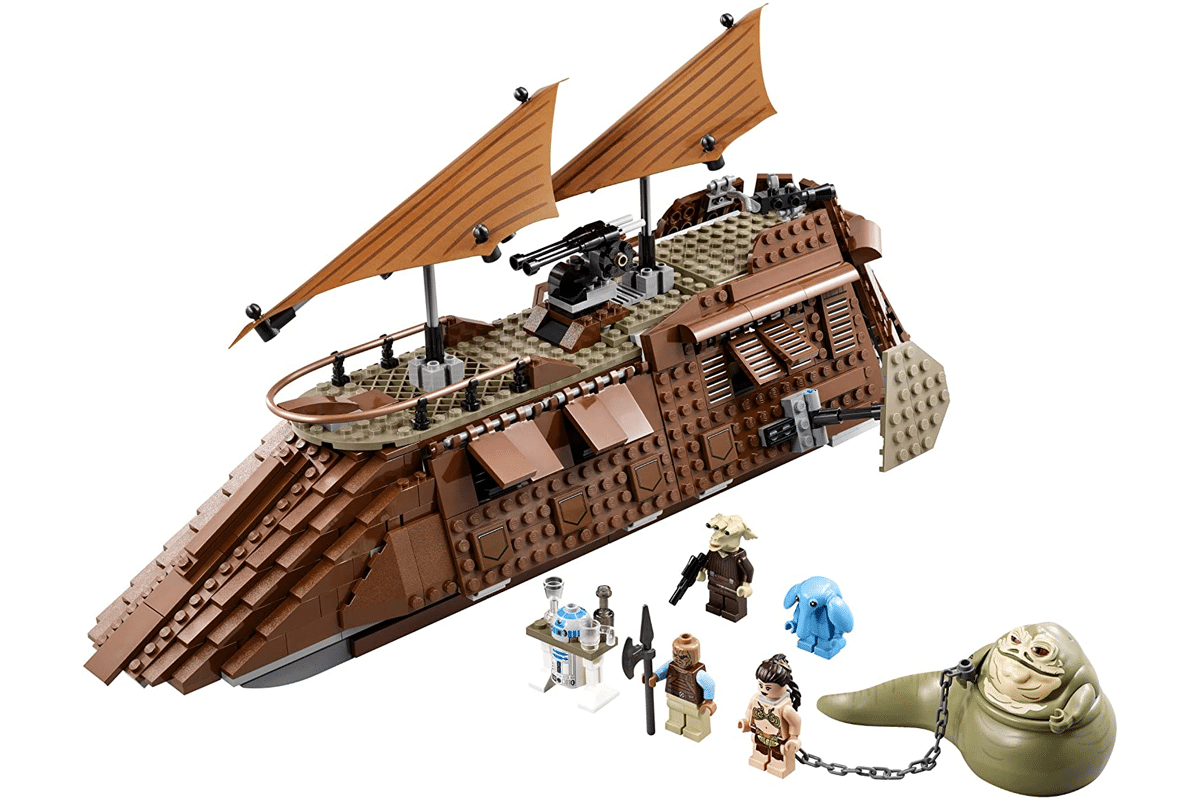 Lego star wars jabbas sail barge 75020 discontinued by manufacturer