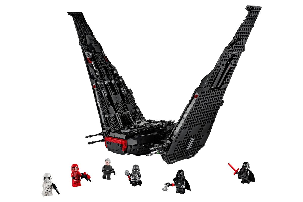Lego star wars kylo ren falcon
