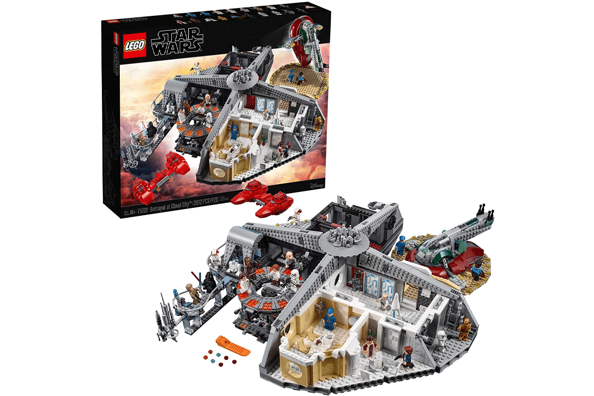 Lego star wars the empire strikes back betrayal at cloud city 75222 building kit new 2020 2812 pieces