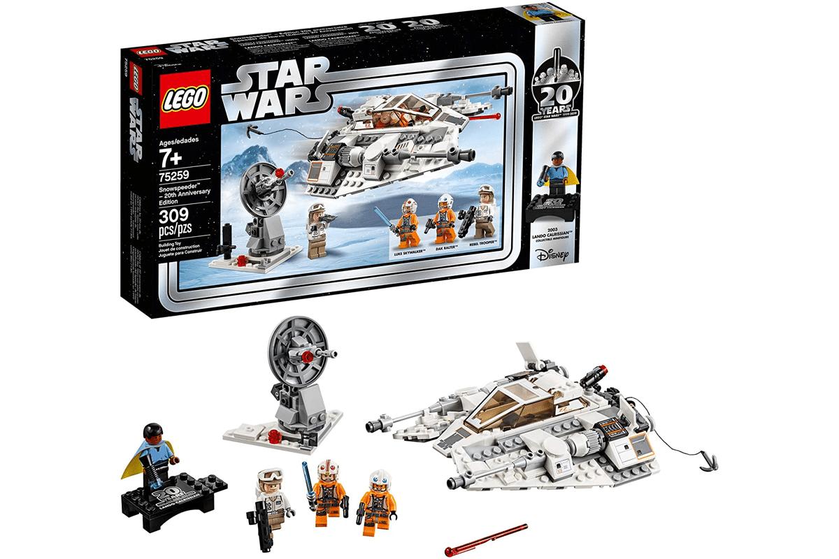Lego star wars the empire strikes back snowspeeder – 20th anniversary edition