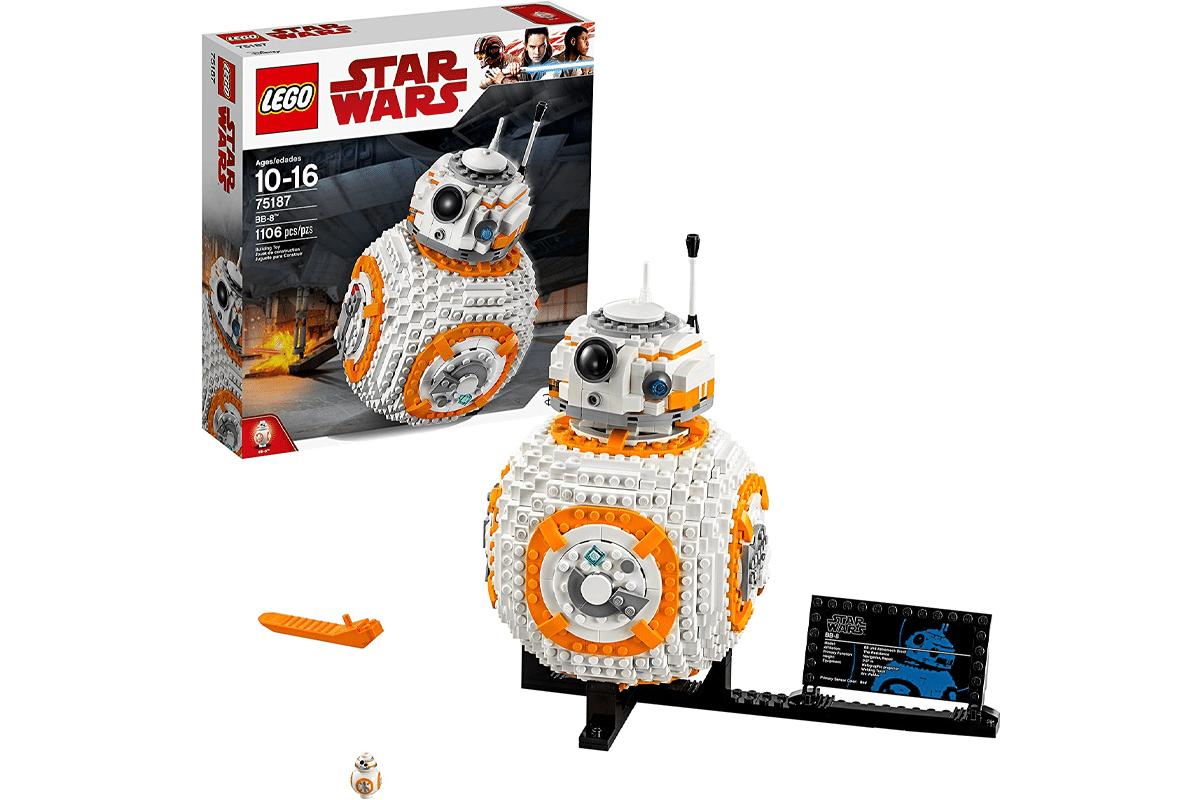 Lego star wars viii bb 8 75187 building kit 1106 piece