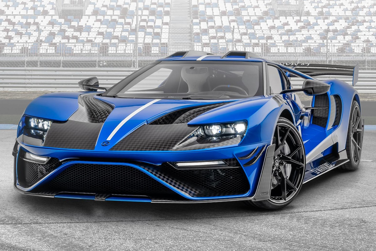 Mansory 700hp carbon ford gt supercars 1