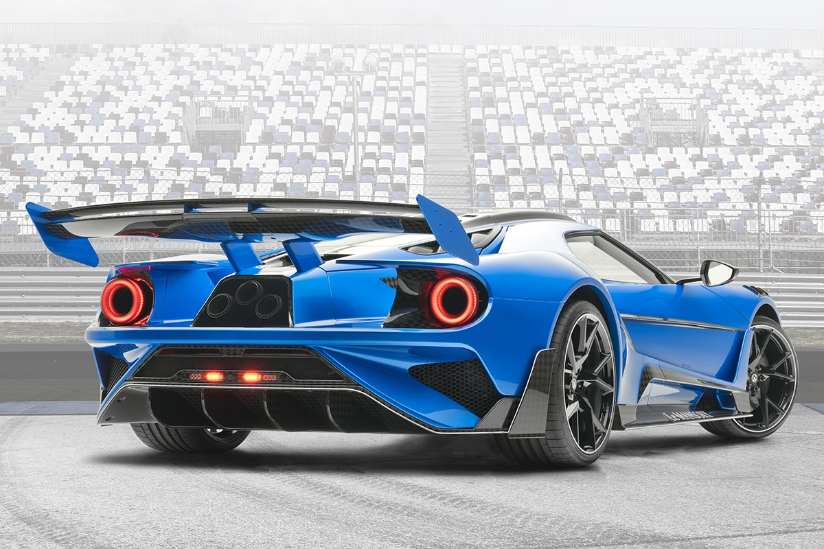 Mansory 700hp carbon ford gt supercars 2