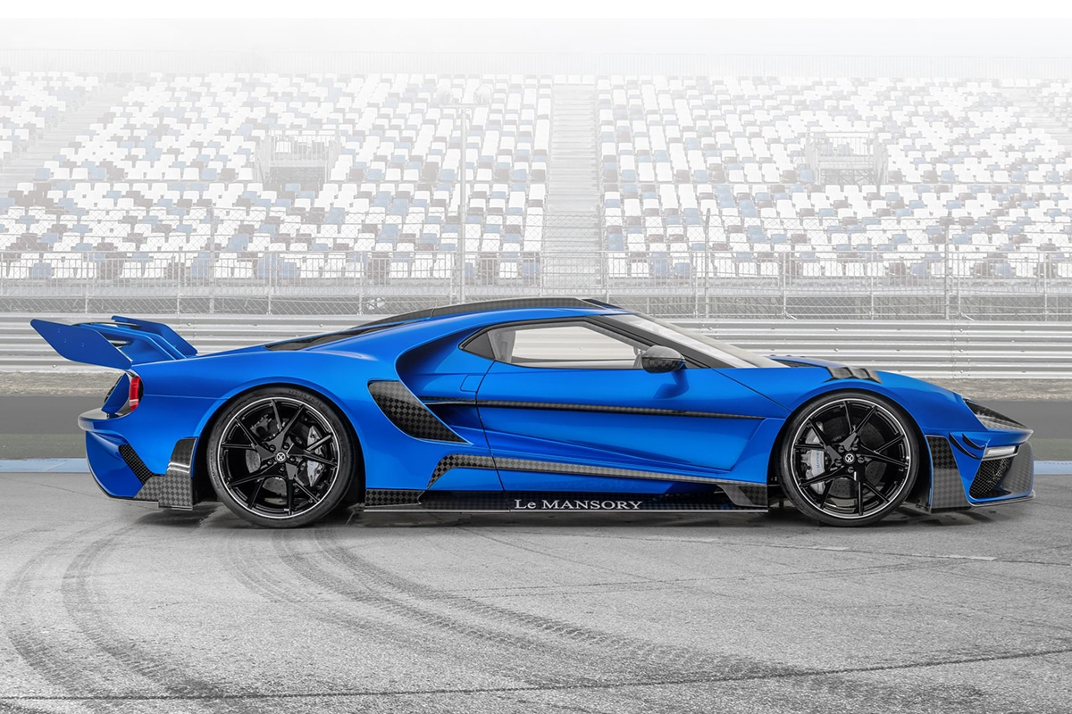 Mansory 700hp carbon ford gt supercars 3
