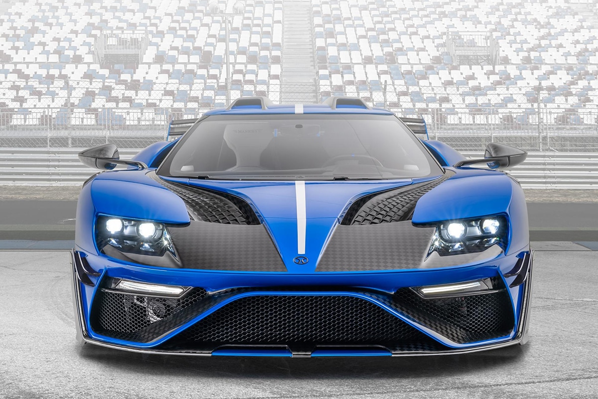 Mansory 700hp carbon ford gt supercars 4