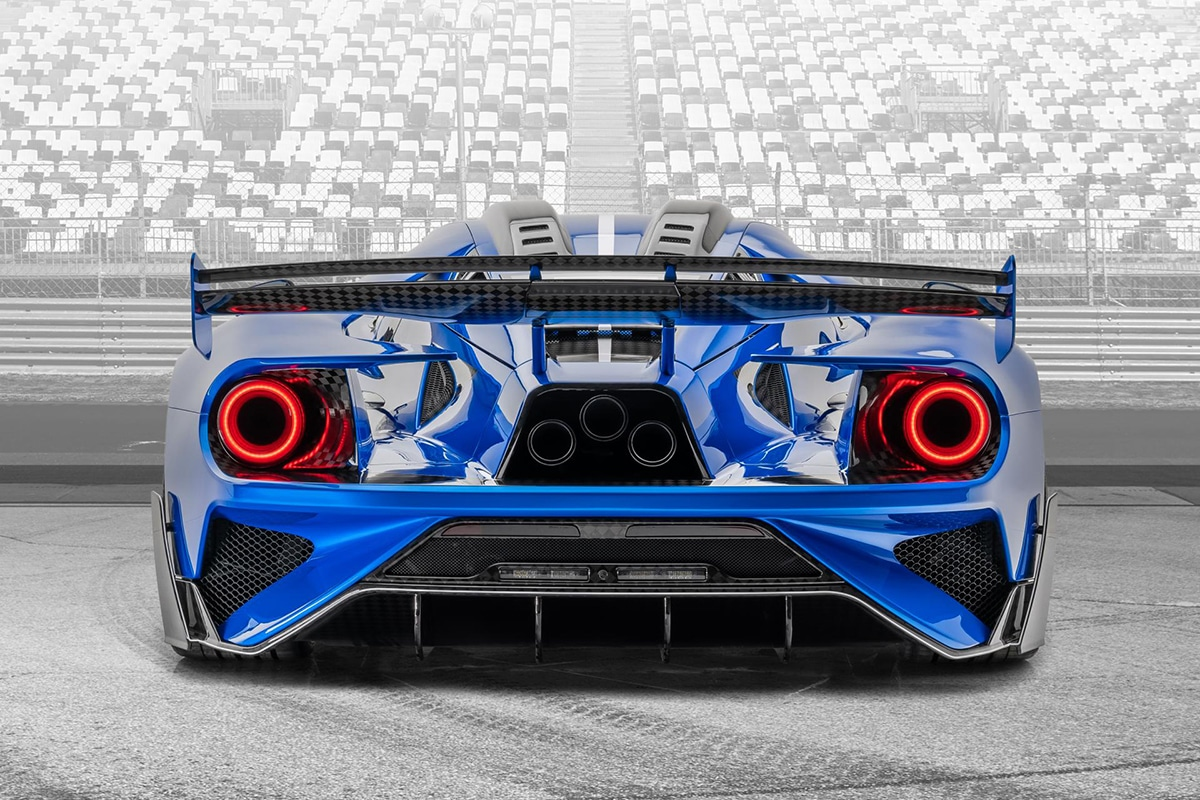 Mansory 700hp carbon ford gt supercars 5