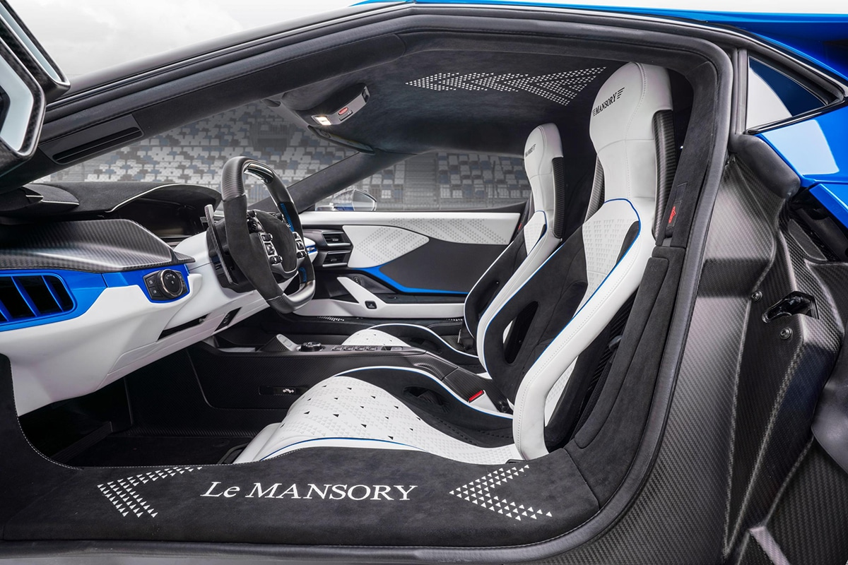 Mansory 700hp carbon ford gt supercars 8