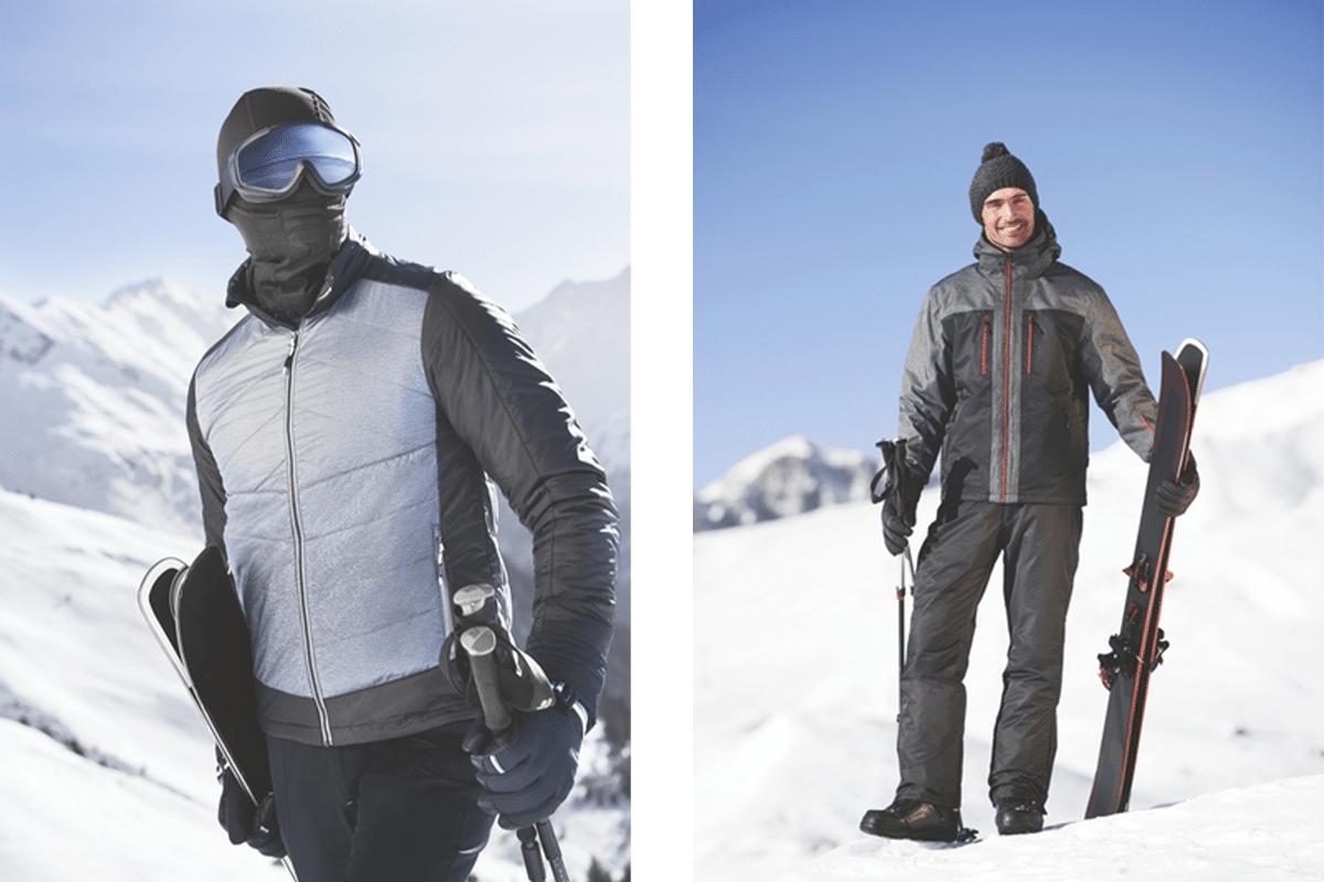 Mens full ski look