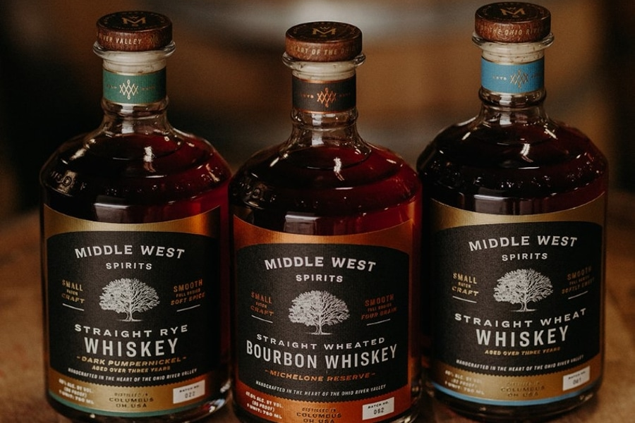 Middle west spirits whiskey