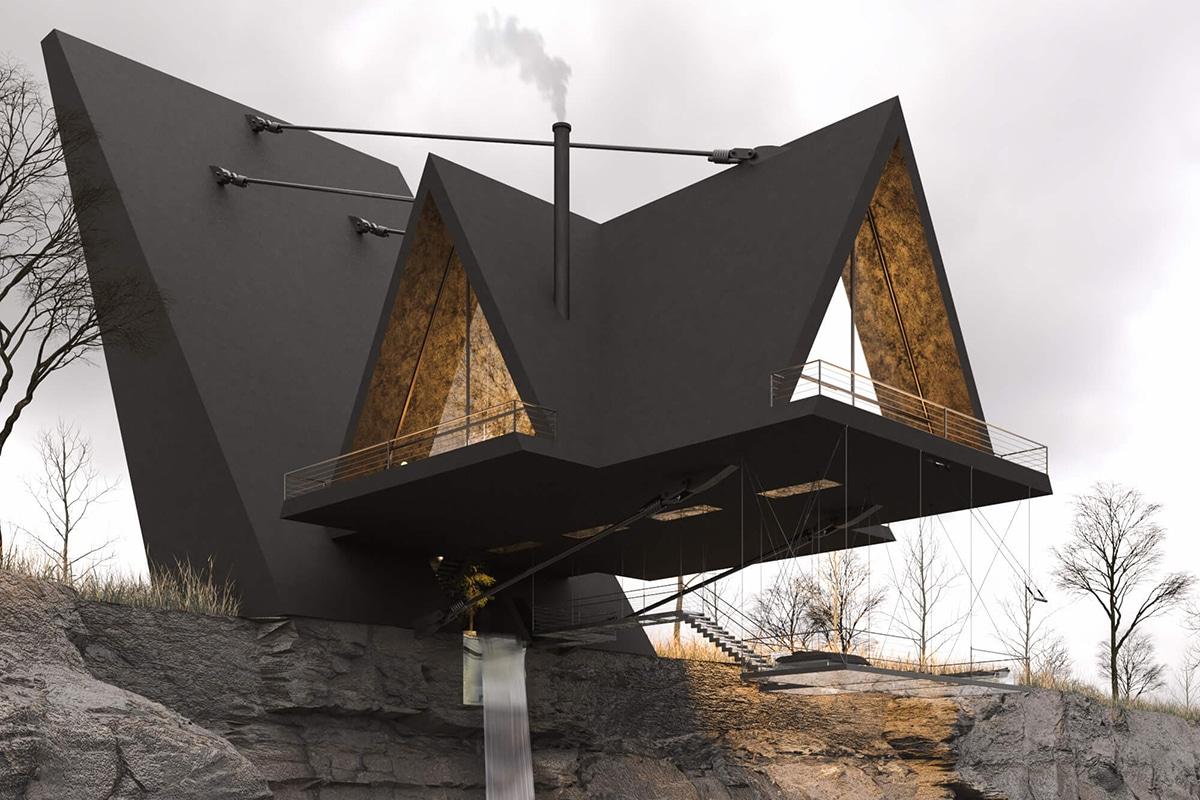 Milad eshtiyaghi suspended house 2