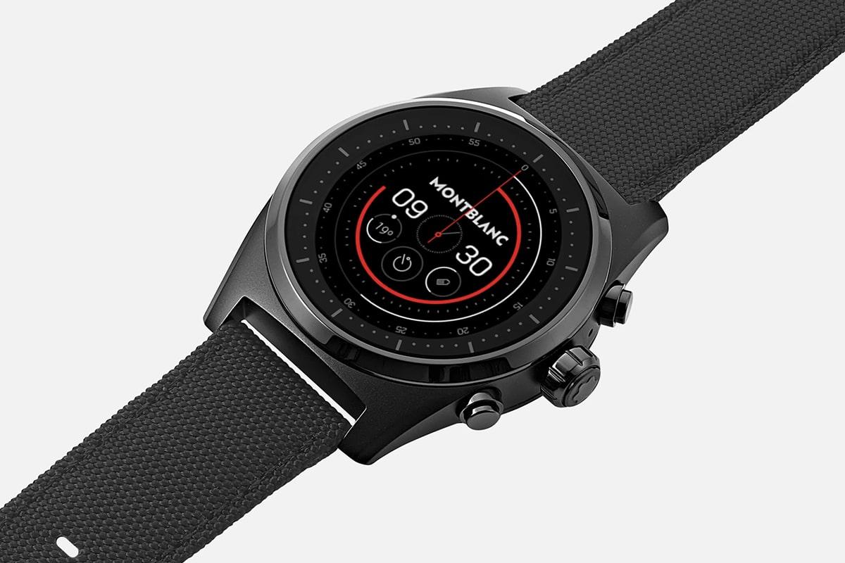 Montblanc summit lite smartwatch 4