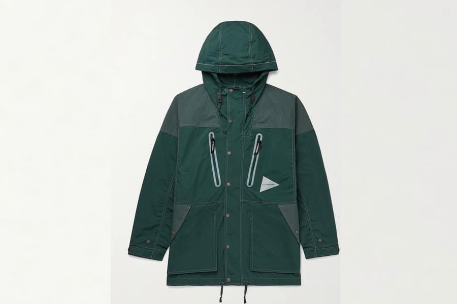 Mr porter finds and wander pertex nylon hooded jacket