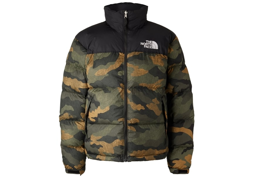 Mr porter finds the north face 1996 retro nuptse quilted printed shell down jacket