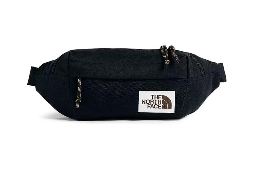 the north face lumbar pack logo appliquéd canvas belt bag