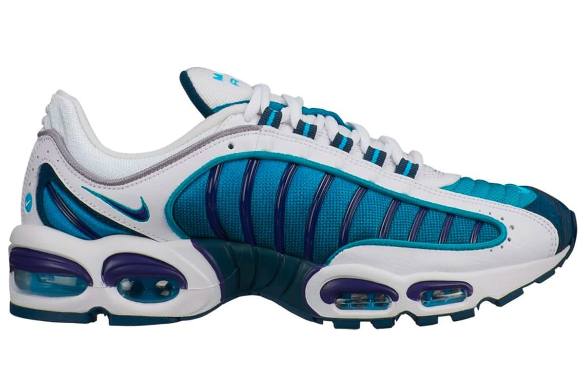 Nike air max tailwind 4 white regency purple spirit teal