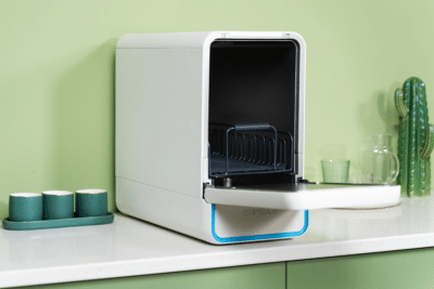 Capsule 3-in-1 Countertop Dishwasher Cleans Everything - Even Your Phone