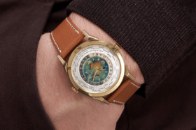 Patek philippe ref 2523 silk road on wrist