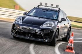 Porsche electric macan 1