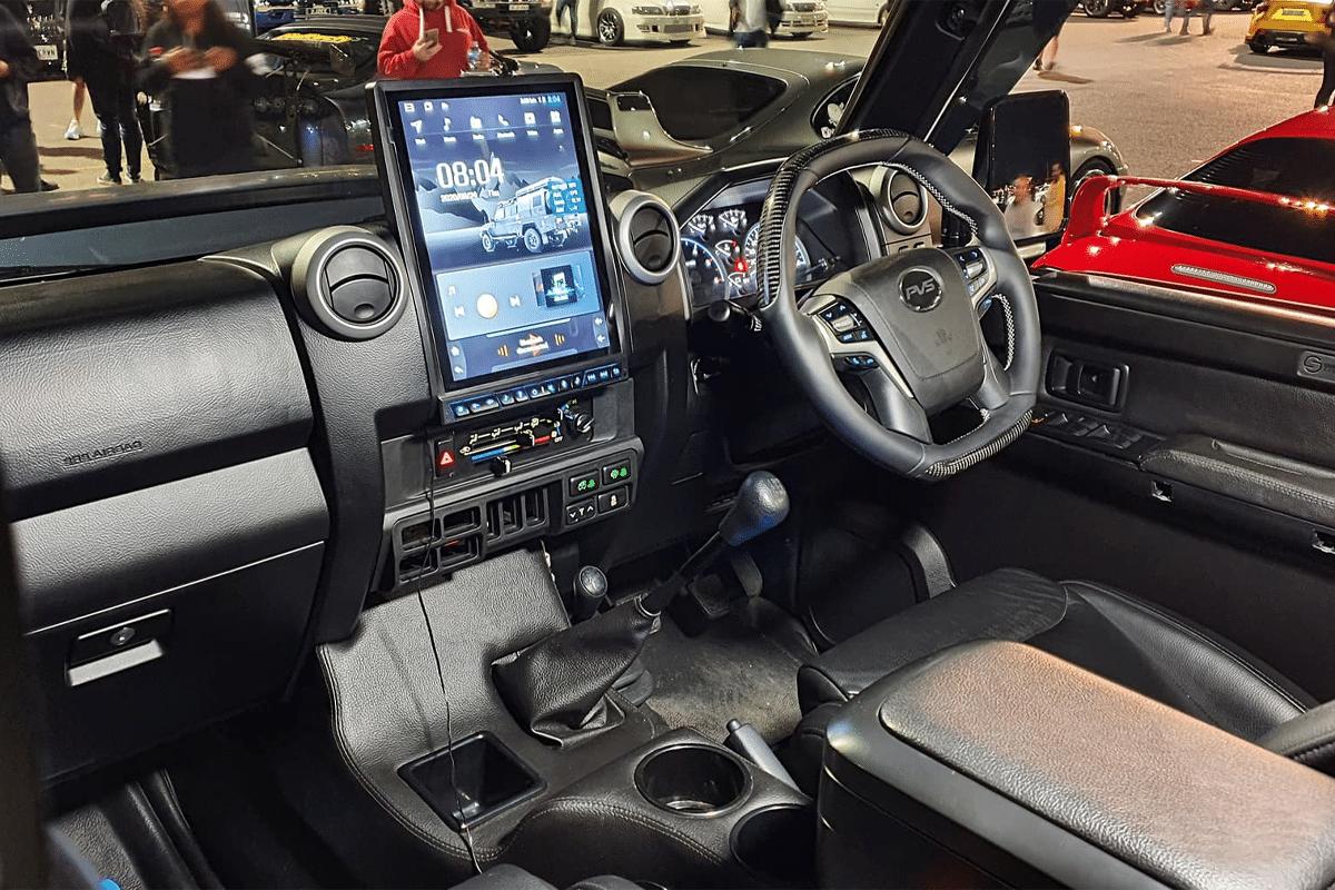 Pvs automotive 79 series landcruiser dashboard