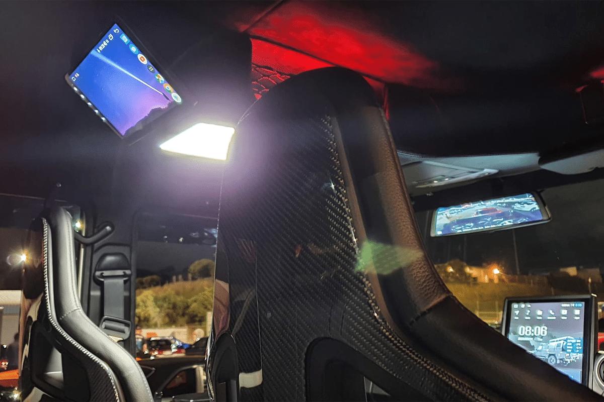Pvs automotive 79 series landcruiser rear view