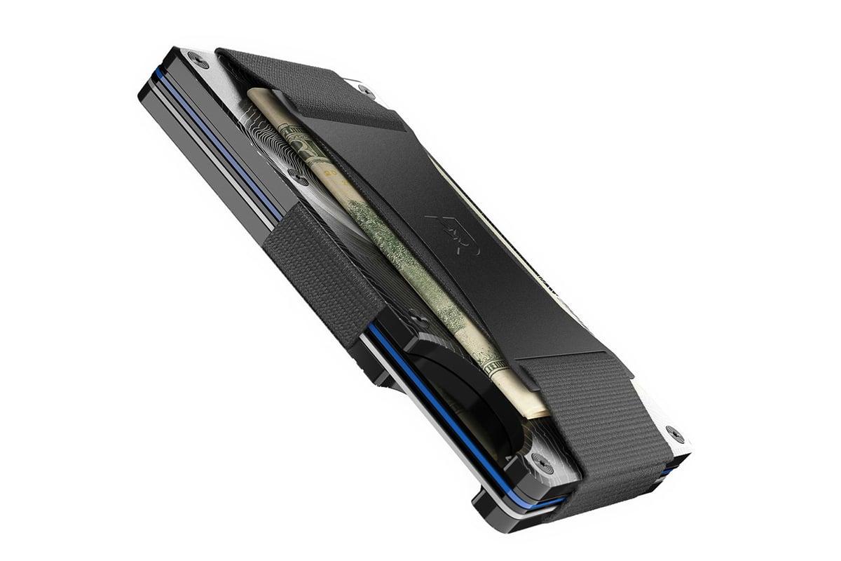 Ridge wallet topographic aluminium 4