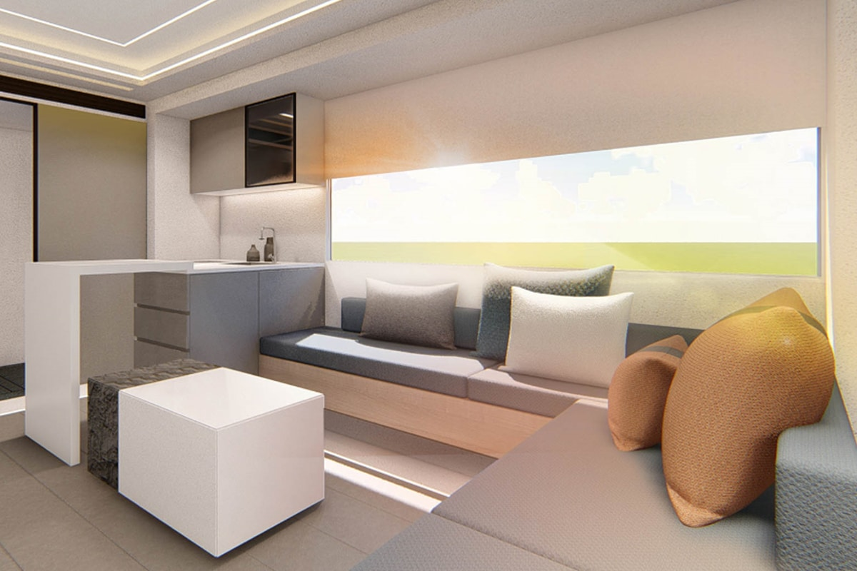 Saic maxus life home v90 villa edition rv