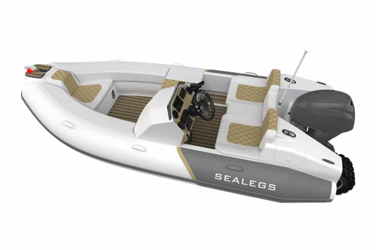 Sealegs 38m tender 1