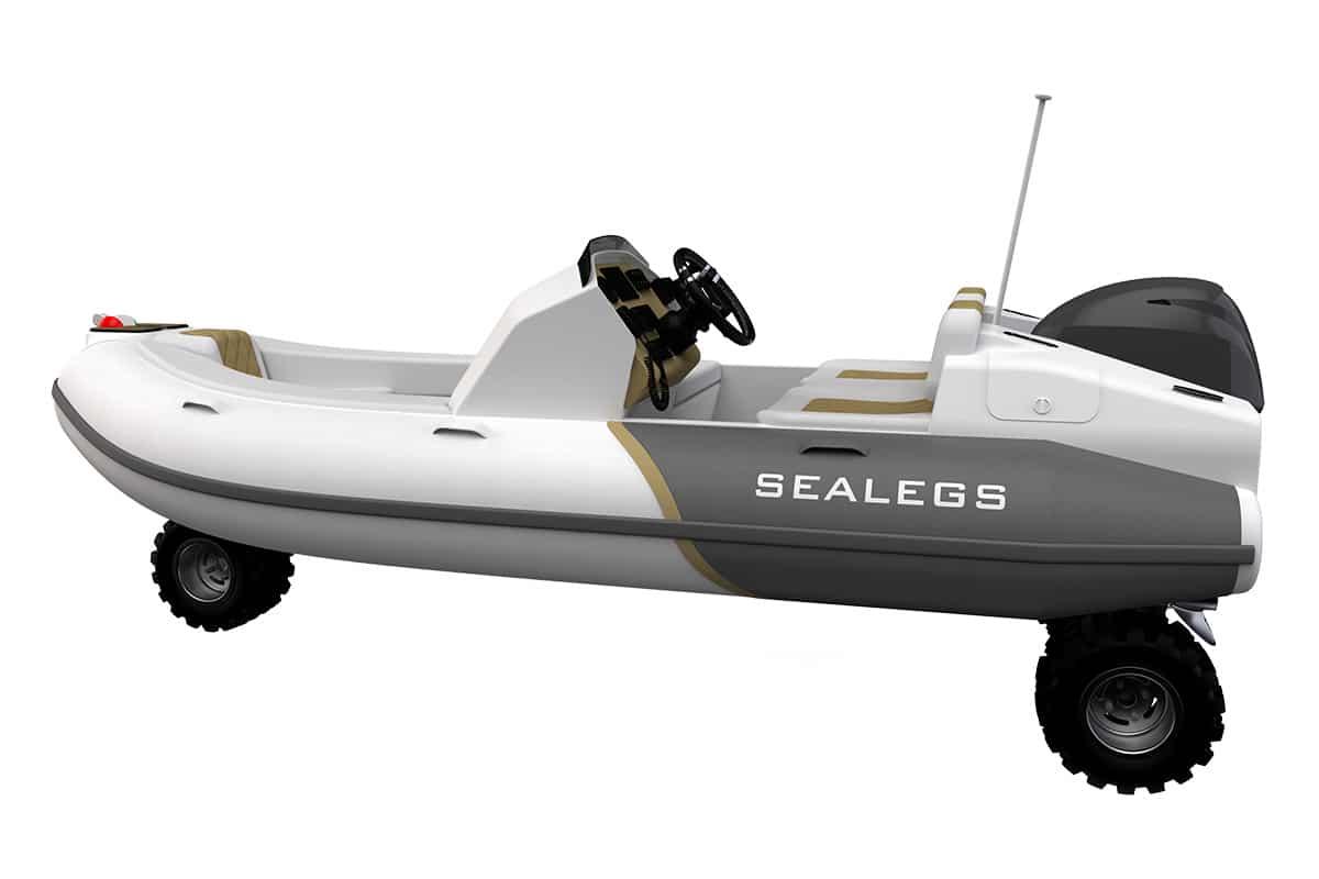 Sealegs 38m tender 6