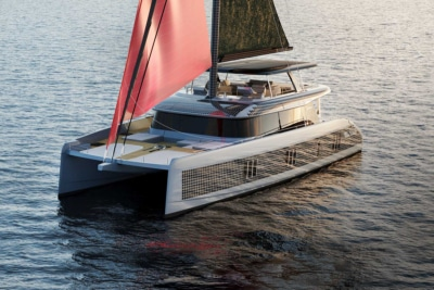 Sunreef 80 Eco Catamaran Generates its Own Solar and Wind Energy for Unlimited Range