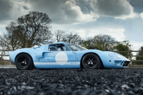 The last ever ford gt40