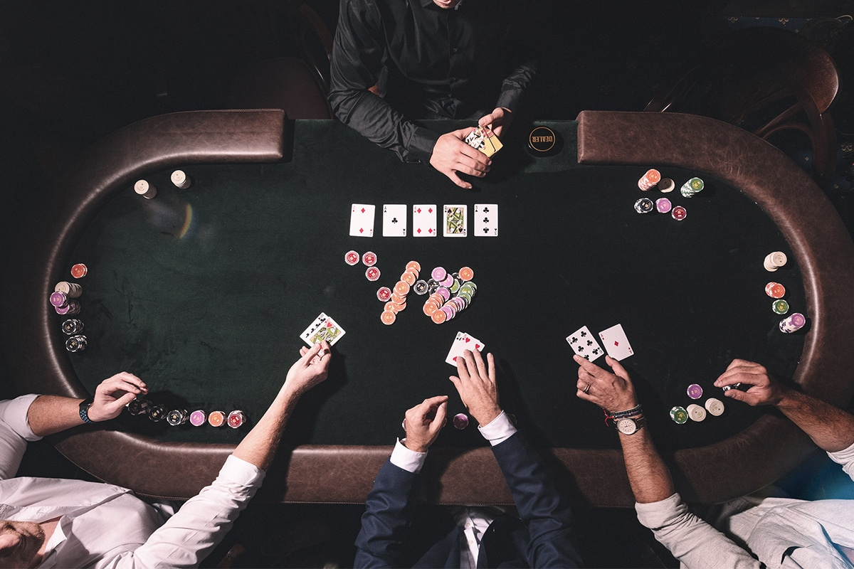 The library poker room 4