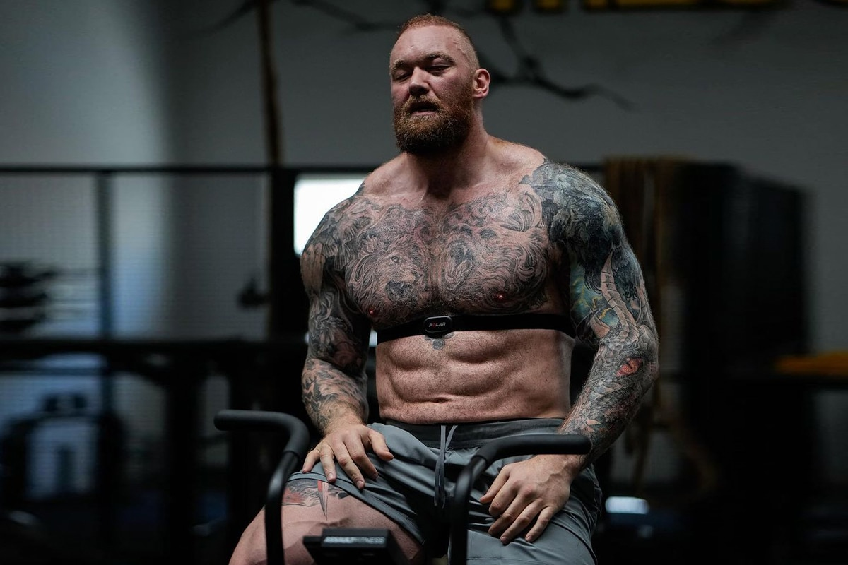 The mountain ripped