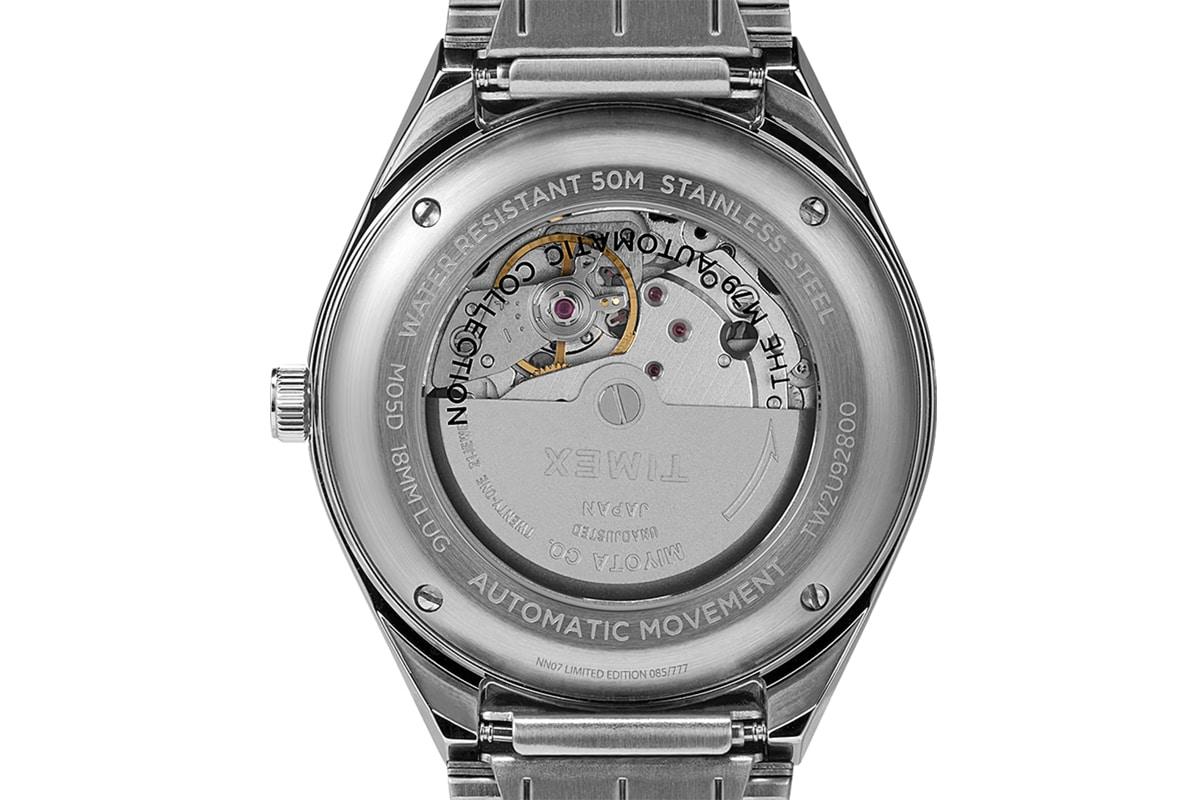 Timex x nn07 40mm automatic stainless steel bracelet watch 1
