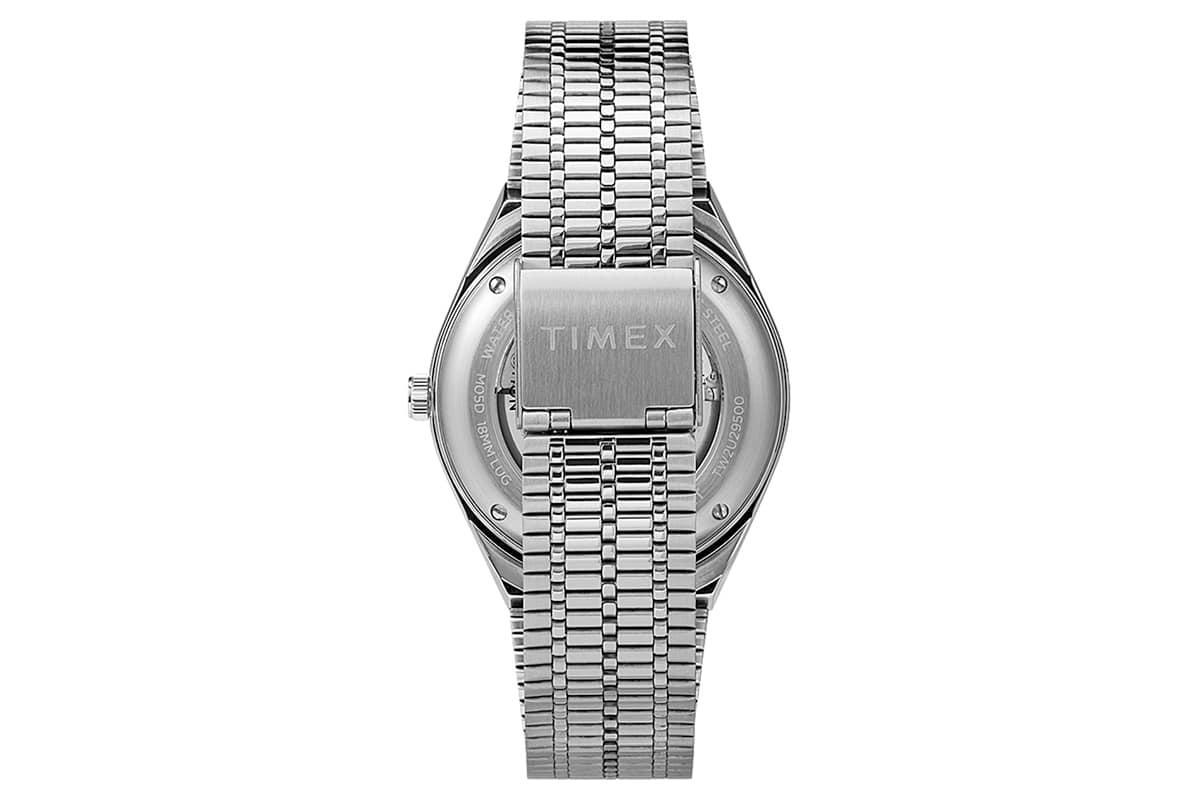 Timex x nn07 40mm automatic stainless steel bracelet watch 2