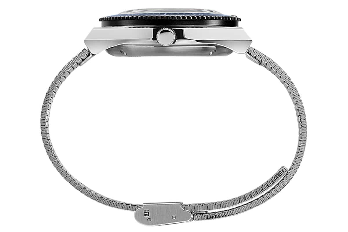 Timex x nn07 40mm automatic stainless steel bracelet watch 3
