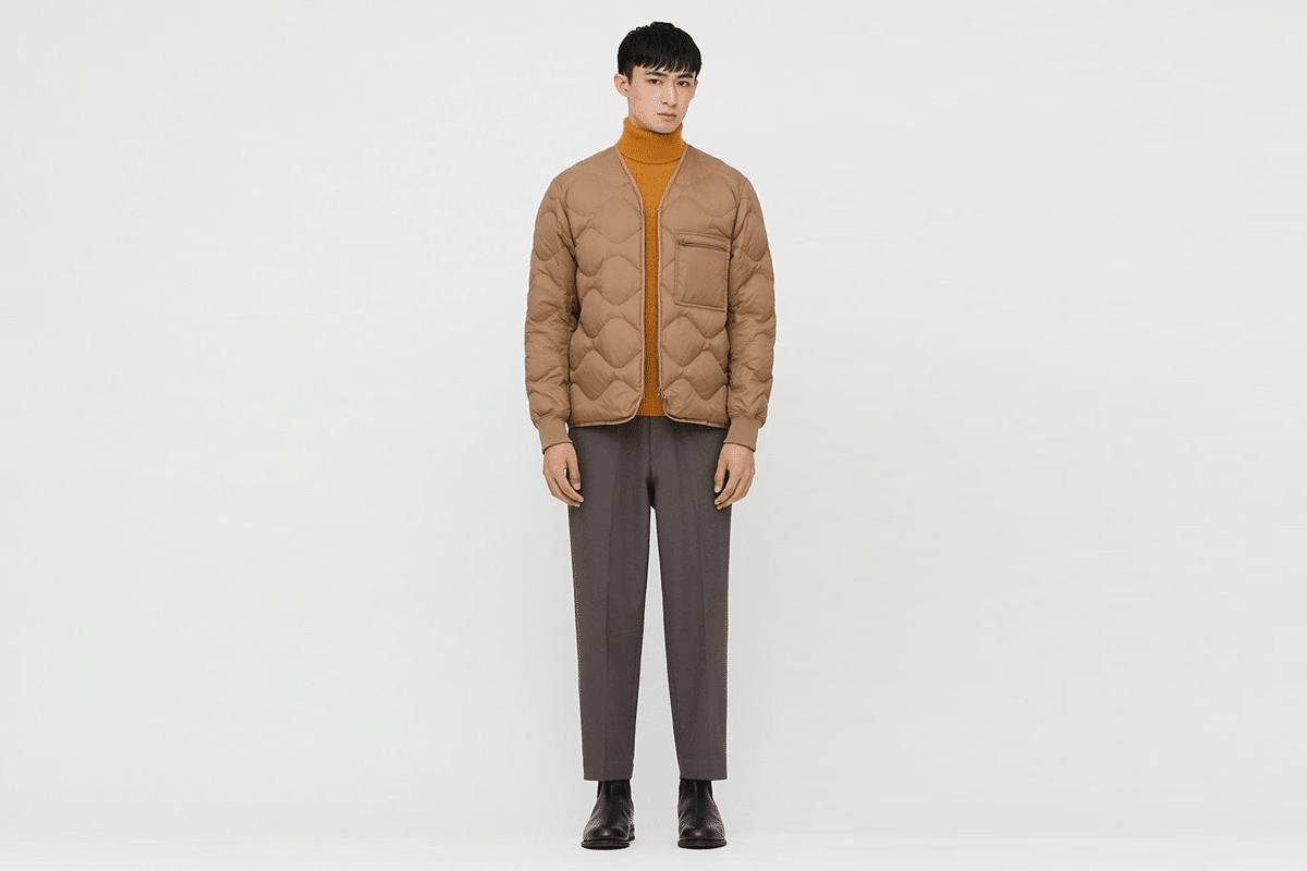 Uniqlo recycled down jackets 2