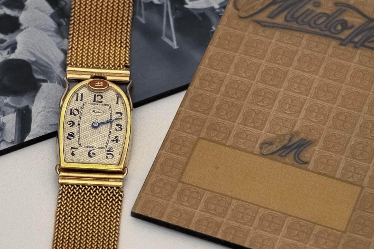 Edmond Ettore Bugatti Mido Watch on Wrist