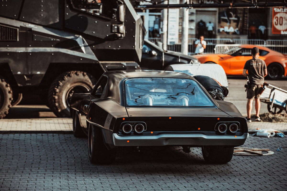 Mid-engine dodge charger