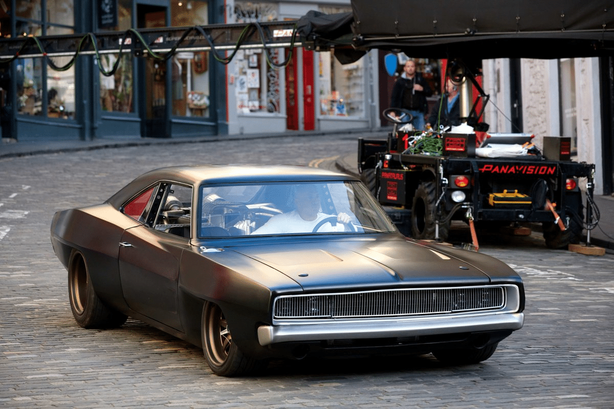 Mid-engine dodge charger 2