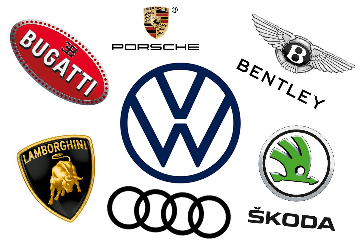 Volkswagen group family tree