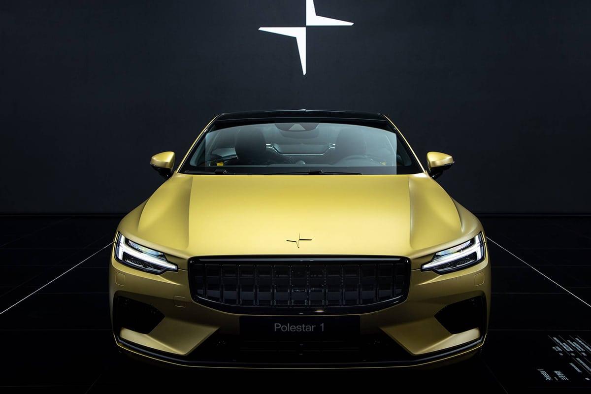 Volvo polestar 1 gold edition 2