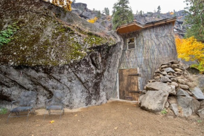This Man Cave is Carved Out of an Actual Cave