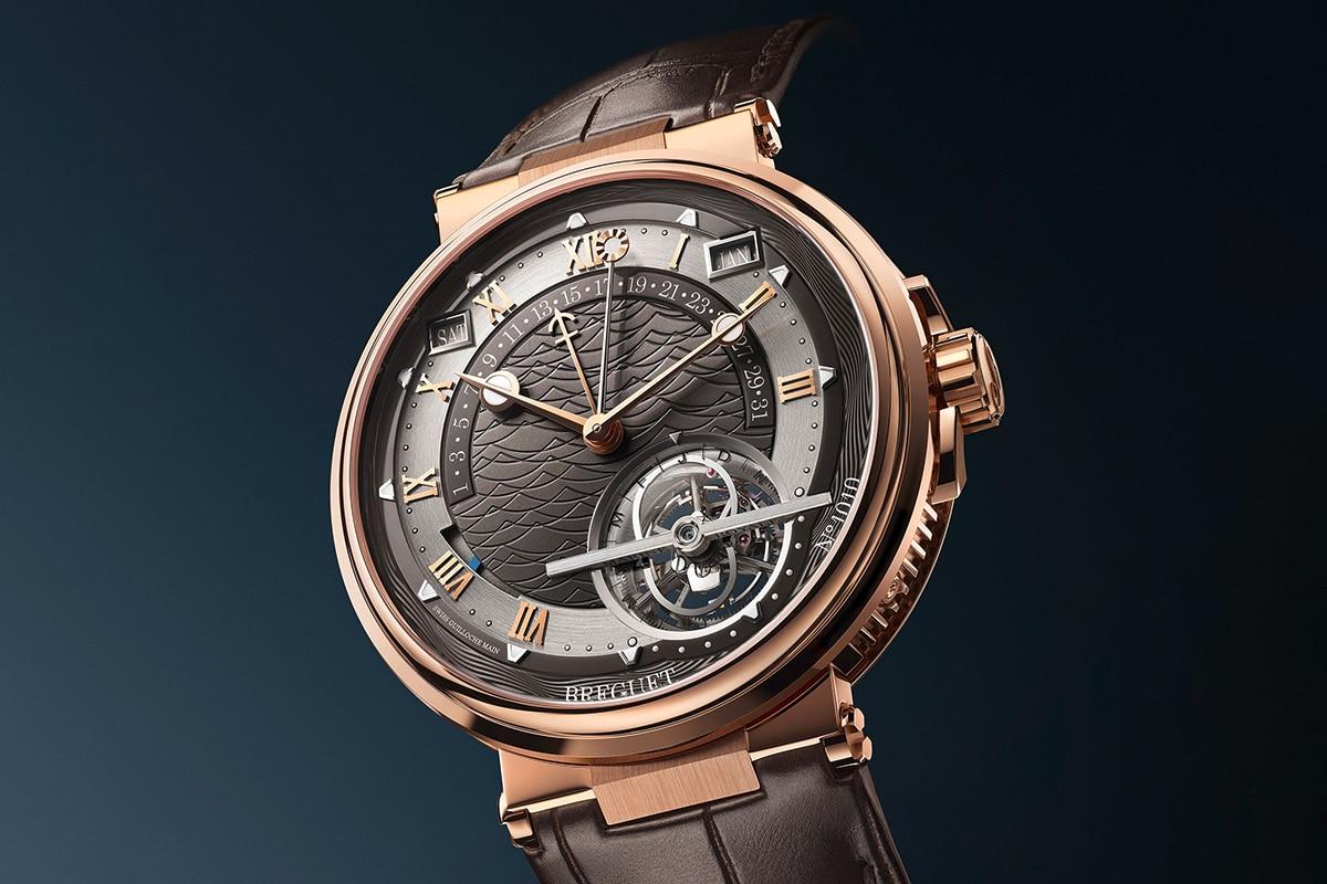 breguet marine grande complication tourbillon watch