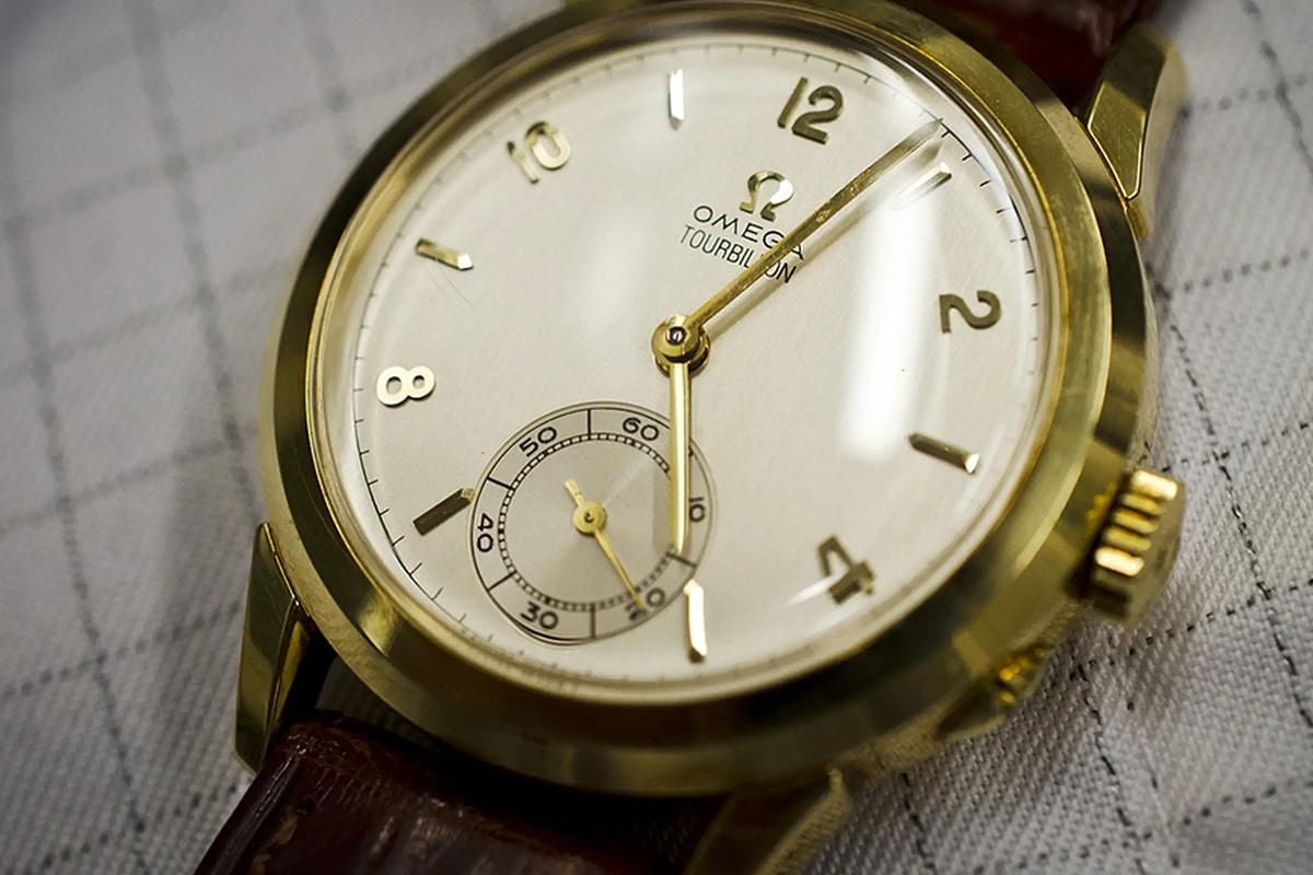 omega Tourbillon old watch