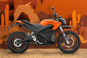 Zero 15th anniversary dsr motorcycle