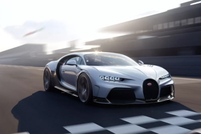 Bugatti Take the Covers Off $5.5 Million 2022 Chiron Super Sport