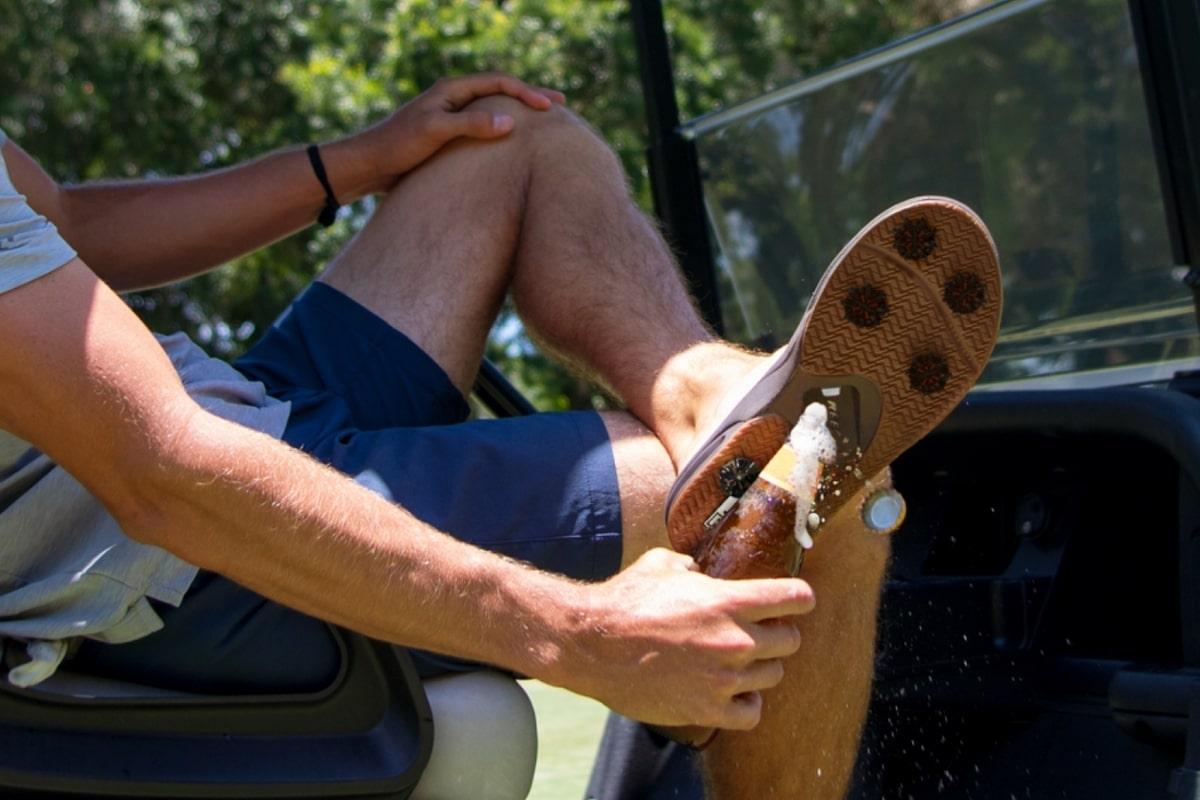Mick Fanning Spackler Golf Sandal