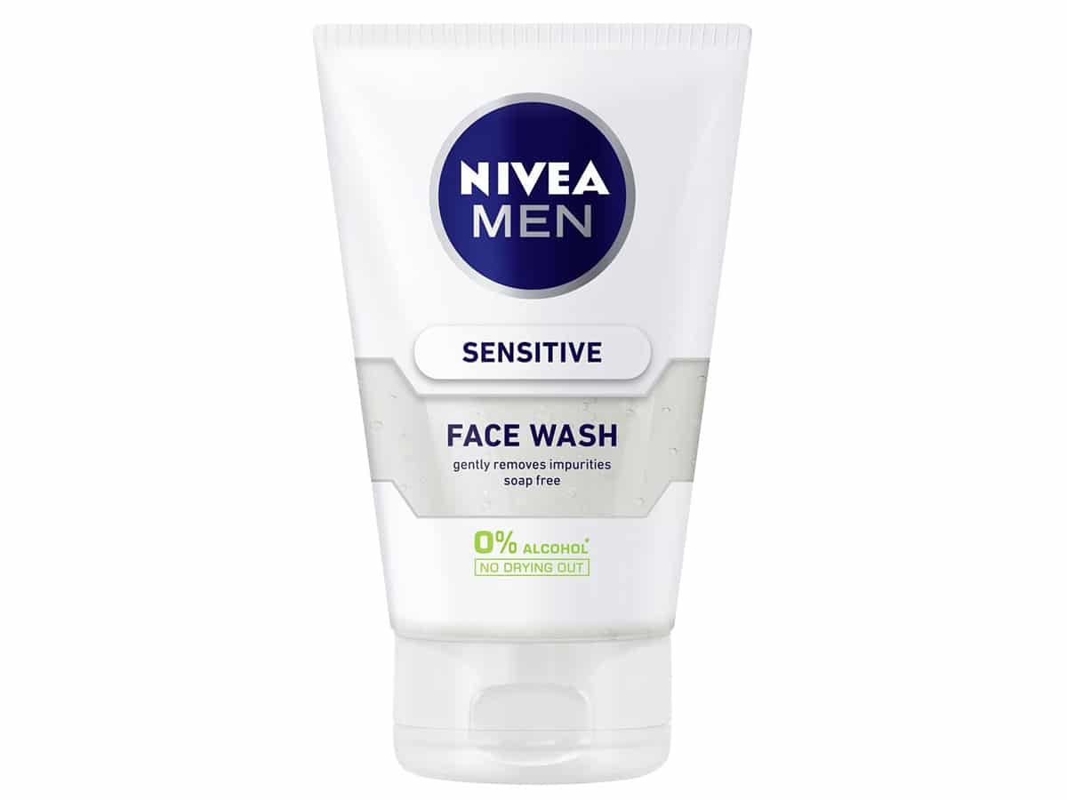 Nivea Sensitive Face Wash